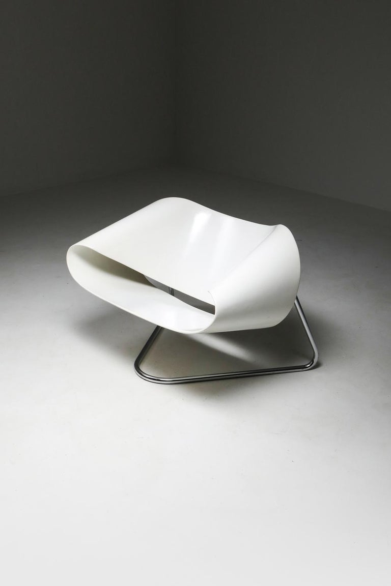 Ribbon Chair by Franca Stagi for Bernini, 1961 For Sale 6