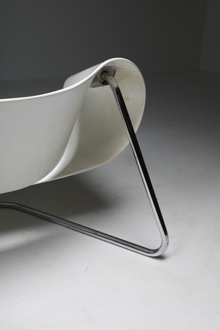 Ribbon Chair by Franca Stagi for Bernini, 1961 For Sale 7