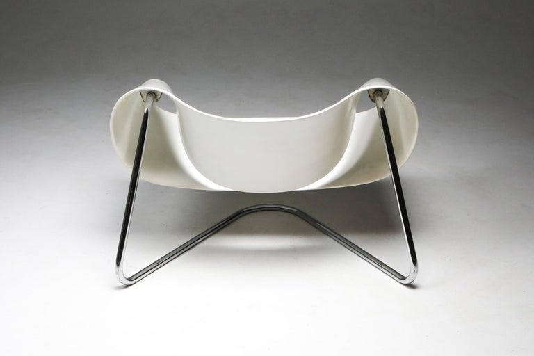 Ribbon Chair by Franca Stagi for Bernini, 1961 In Good Condition For Sale In Antwerp, BE