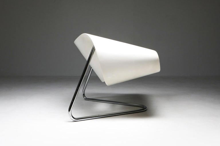Mid-20th Century Ribbon Chair by Franca Stagi for Bernini, 1961 For Sale