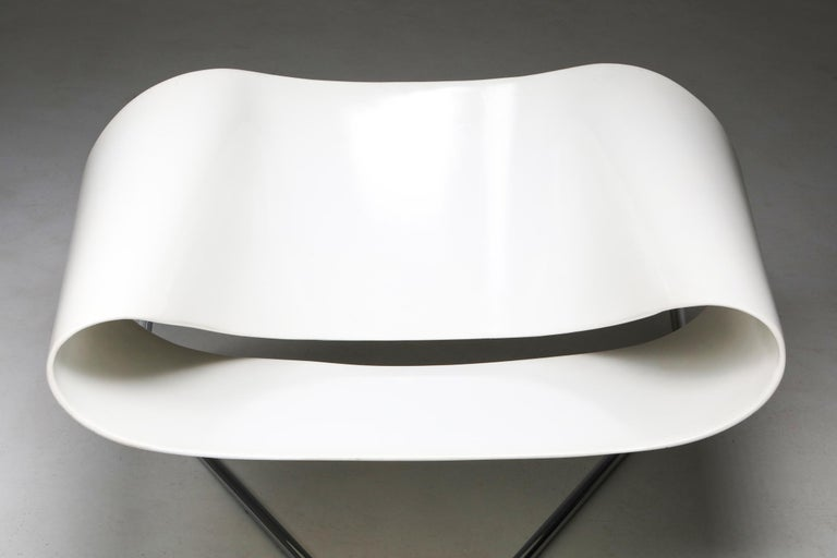 Ribbon Chair by Franca Stagi for Bernini, 1961 For Sale 2