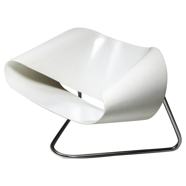 Ribbon Chair by Franca Stagi for Bernini, 1961 For Sale