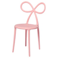 Ribbon Chair Pink, Designed by Nika Zupanc, Made in Italy