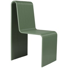 Ribbon Contemporary Chair in Aluminium Tubes by Laun