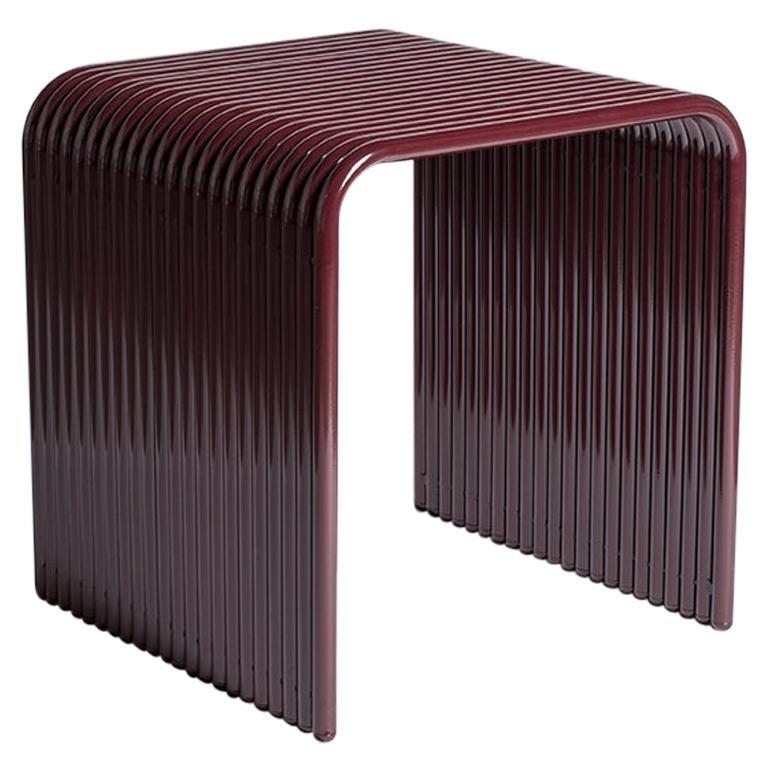 Ribbon, Indoor/Outdoor Aluminum Stool by LAUN
