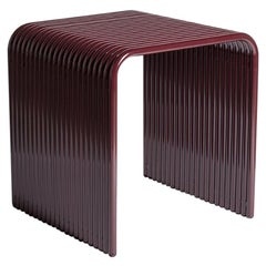 Ribbon, Indoor/Outdoor Aluminum Stool by LAUN