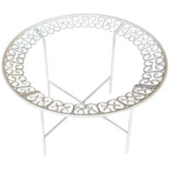 Ribbon Patio/Outdoor Picnic Table by Maurizio Tempestini for Salterini