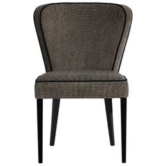 Ribeira Dining Chair with Contrasting Piping Details