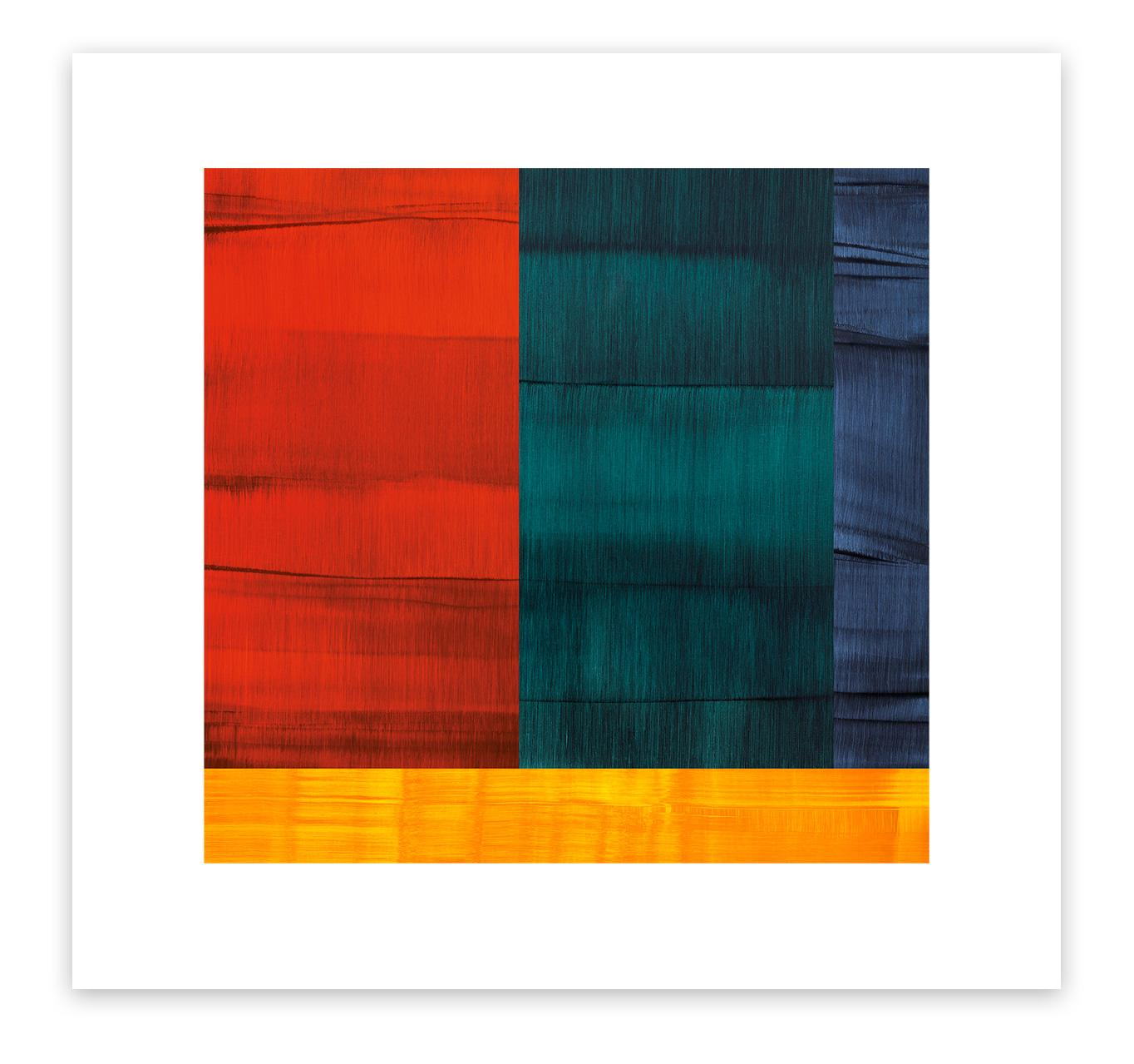 Bhutan Abstraction with Red - 1