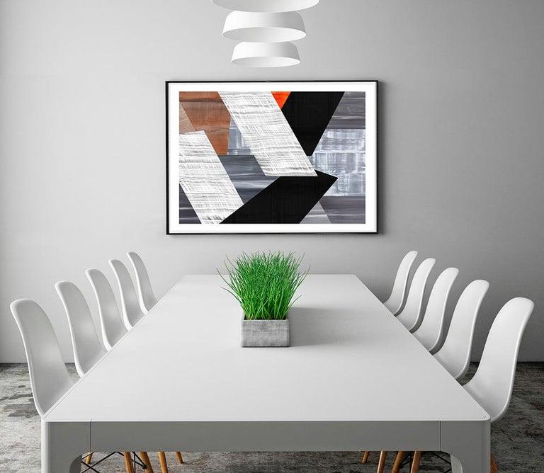 Praga P-6 2021 - Abstract Print by Ricardo Mazal