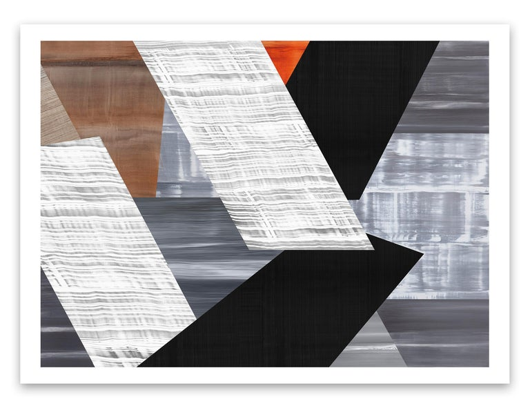 Ricardo Mazal Abstract Print - Praga P-6 2021
