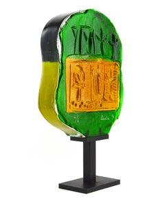 Art Glass Sculpture by Riccardo Licata, 1997