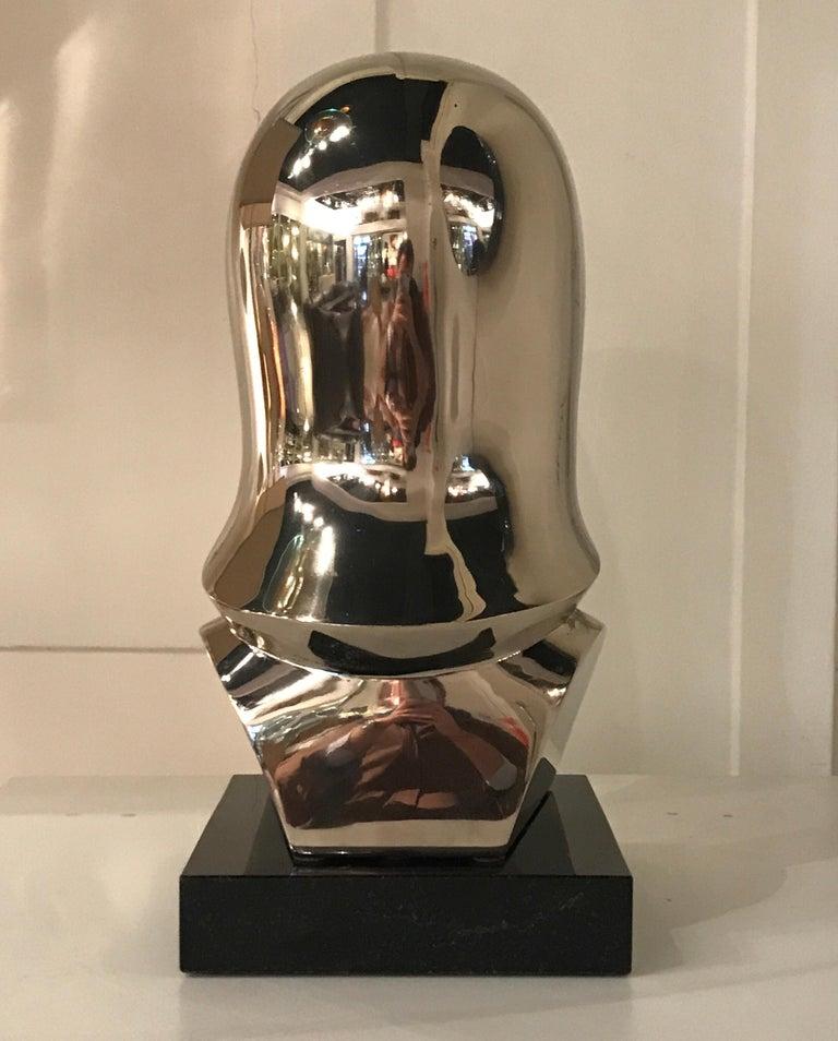 Riccardo Scarpa Bronze Sculpture For Sale 3
