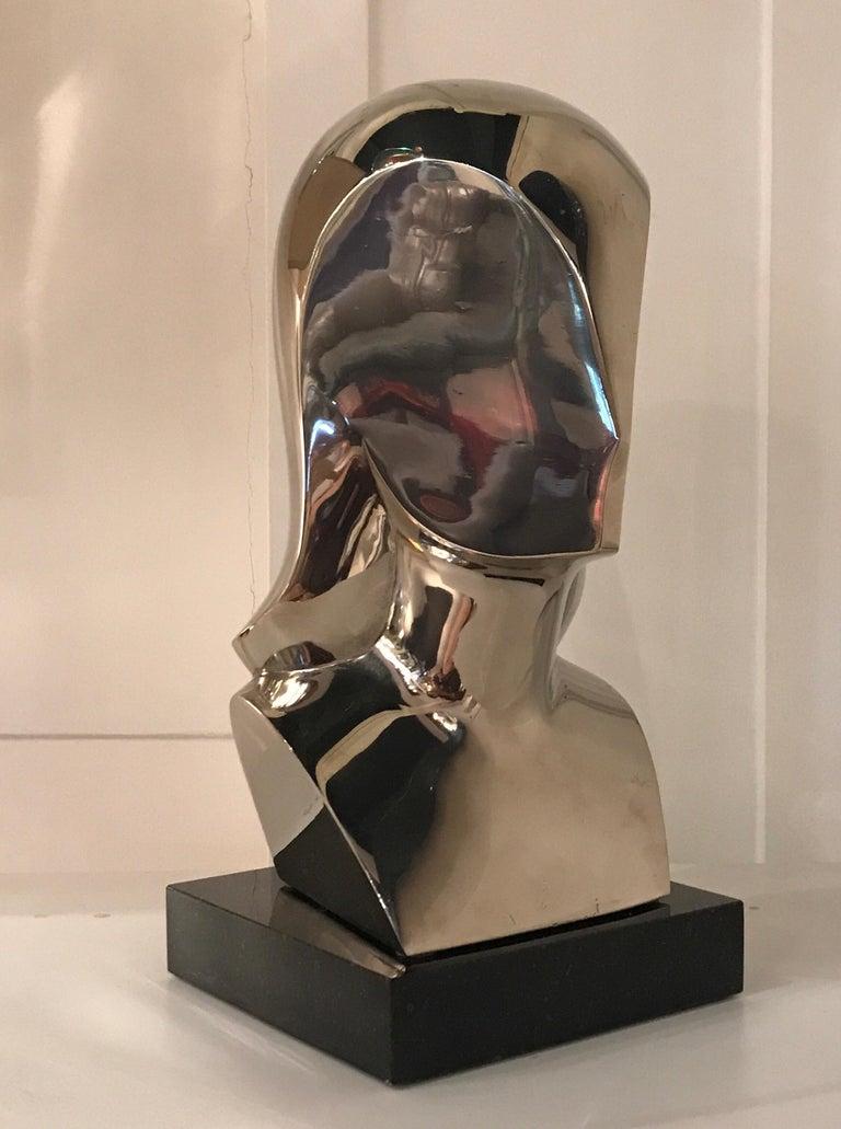 Mid-Century Modern Riccardo Scarpa Bronze Sculpture For Sale