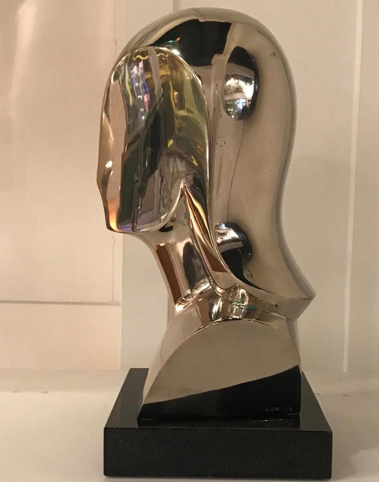 Riccardo Scarpa Bronze Sculpture In Good Condition For Sale In Saint-Ouen, FR