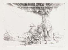 Napoleon - Original Etching by Riccardo Tommasi Ferroni - 1970s