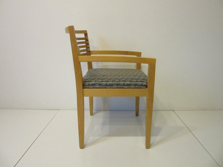 Modern Ricchio Dining Chairs for Knoll For Sale