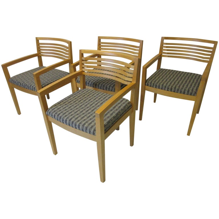 Ricchio Dining Chairs for Knoll For Sale