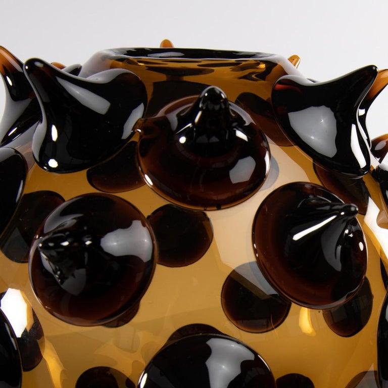 Riccio Vase, Gae Aulenti, Venini Murano, Italy For Sale 3