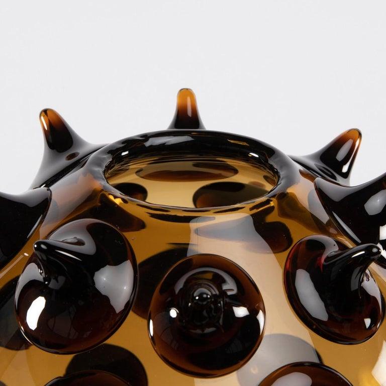 Modern Riccio Vase, Gae Aulenti, Venini Murano, Italy For Sale