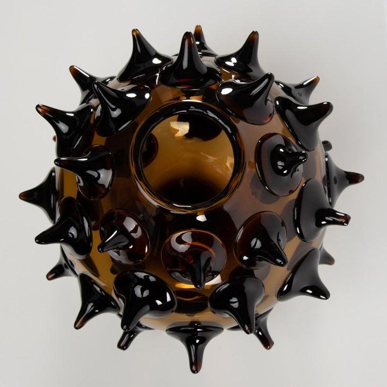 Riccio Vase, Gae Aulenti, Venini Murano, Italy For Sale 1