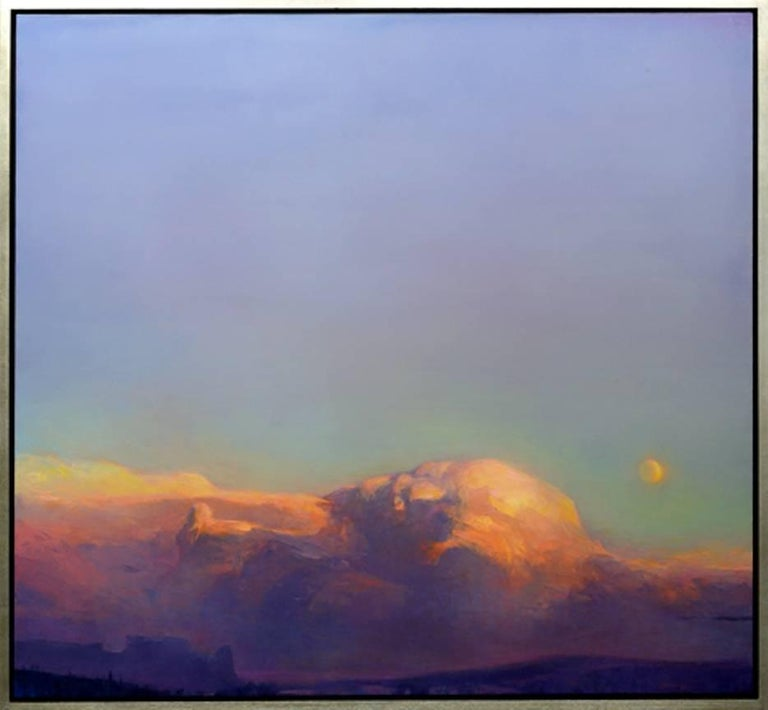 """Rich Bowman Landscape Painting - """"Many Phases"""""""