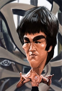 Conley Bruce Lee Giclee #6/20