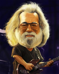 Jerry Garcia Giclee #10/20