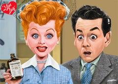 Vitameatavegamin Licensed I Love Lucy Giclee #7/30