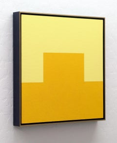 CITRINE - Framed Modern / Minimal Painting, Painting, Acrylic on Canvas