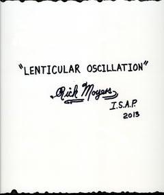 LENTICULAR OSCILLATION, Painting, Acrylic on MDF Panel