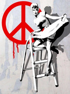 Love and Peace. Limited Edition Print.