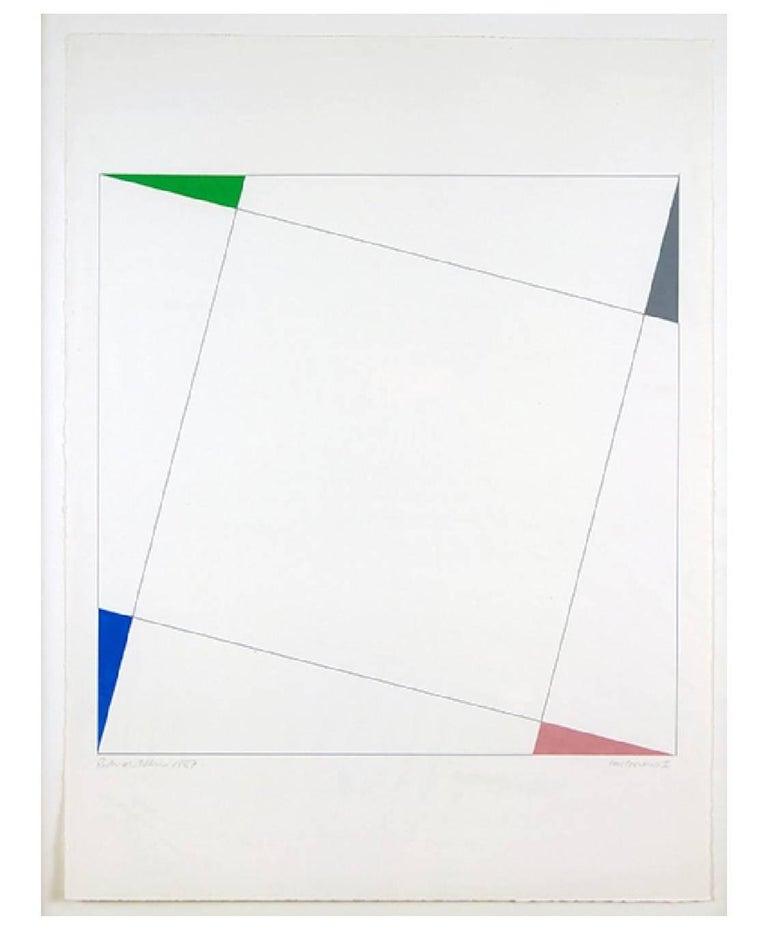 Richard Allen Abstract Painting - Four Corners 1