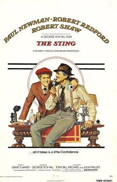 The Sting original U.S..genuine one sheet movie poster
