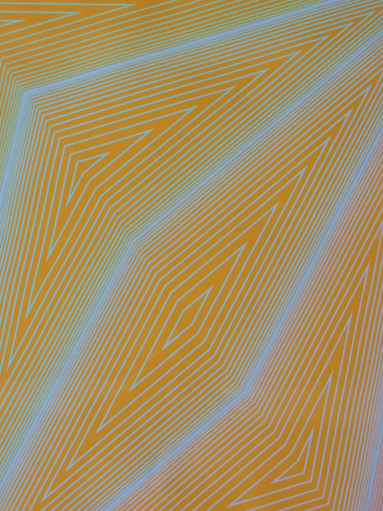 Richard Anuszkiewicz Op Art Abstract Inward Eye Serigraph, the Eye Sees More For Sale 1