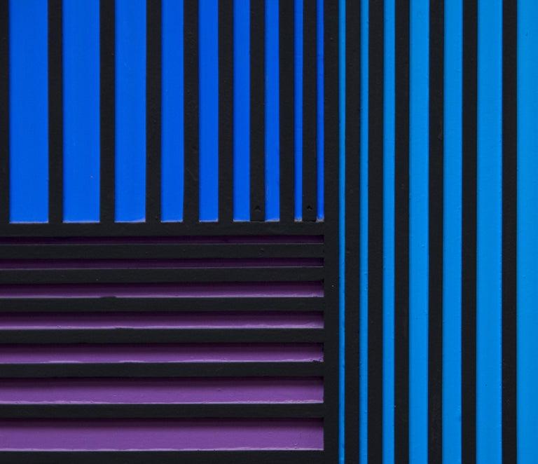 Translumina - Brown Abstract Painting by Richard Anuszkiewicz