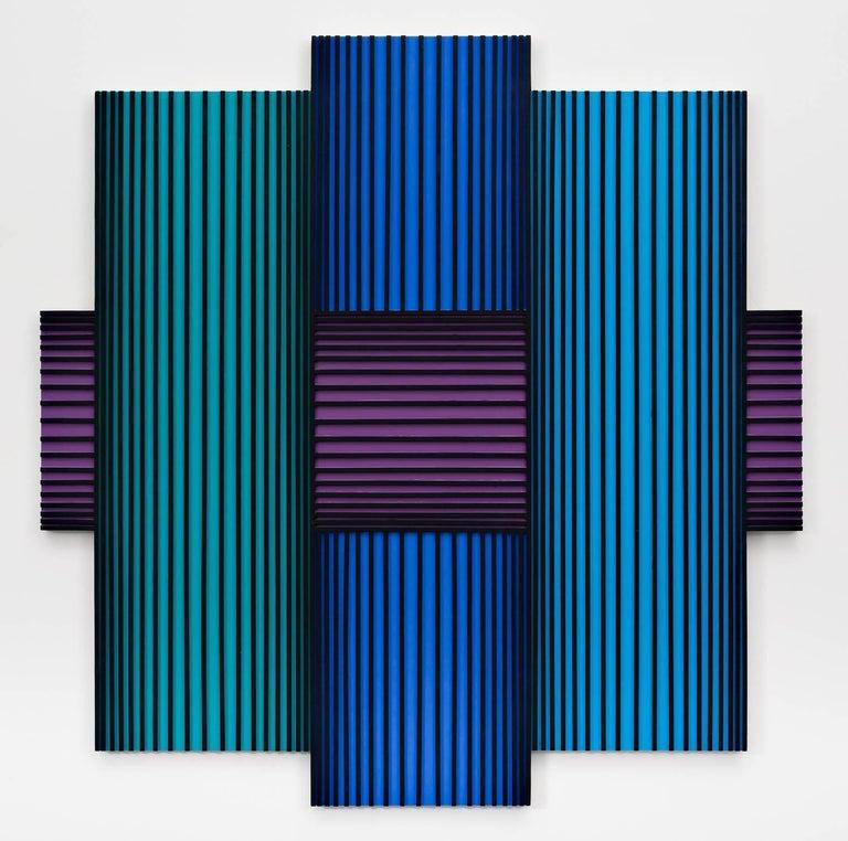Richard Anuszkiewicz Abstract Painting - Translumina