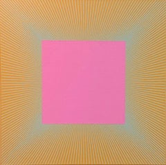 Twilight Magenta Square, 1977 - 2017, 30 x 30 inches, acrylic on canvas, RA1090