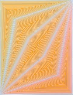 Inward Eye, #4 OP Art Serigraph by Anuszkiewicz