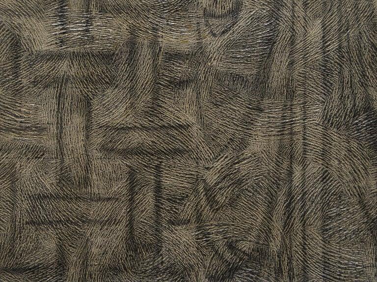 Weave Drape - Minimalist Painting by Richard Artschwager