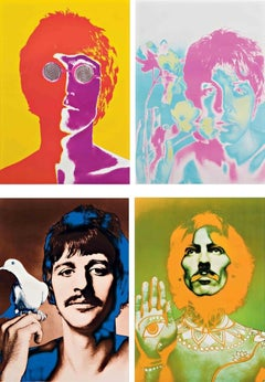 Beatles Lithographs