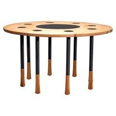 Richard Bent Nissen 'Yang' Dining Table, Denmark, 1960s-1950s