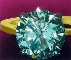 Diamond Ring, Limited Edition Silkscreen, Richard Bernstein