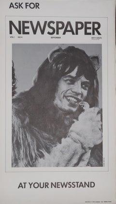 Mick Jagger Newspaper