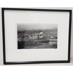 "Richard Blair Photograph ""Shipwrecked Boat - Tomales Bay"" c.2000"