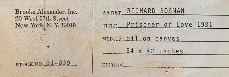 Prisoner of Love - Painting by Richard Bosman