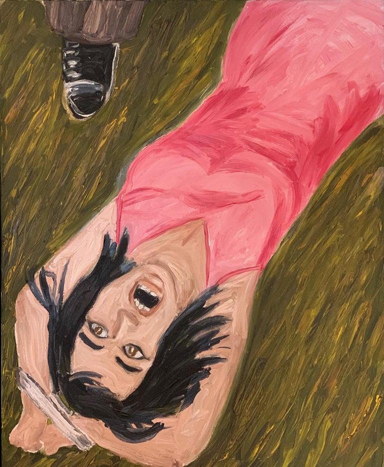 Richard Bosman Figurative Painting - Prisoner of Love