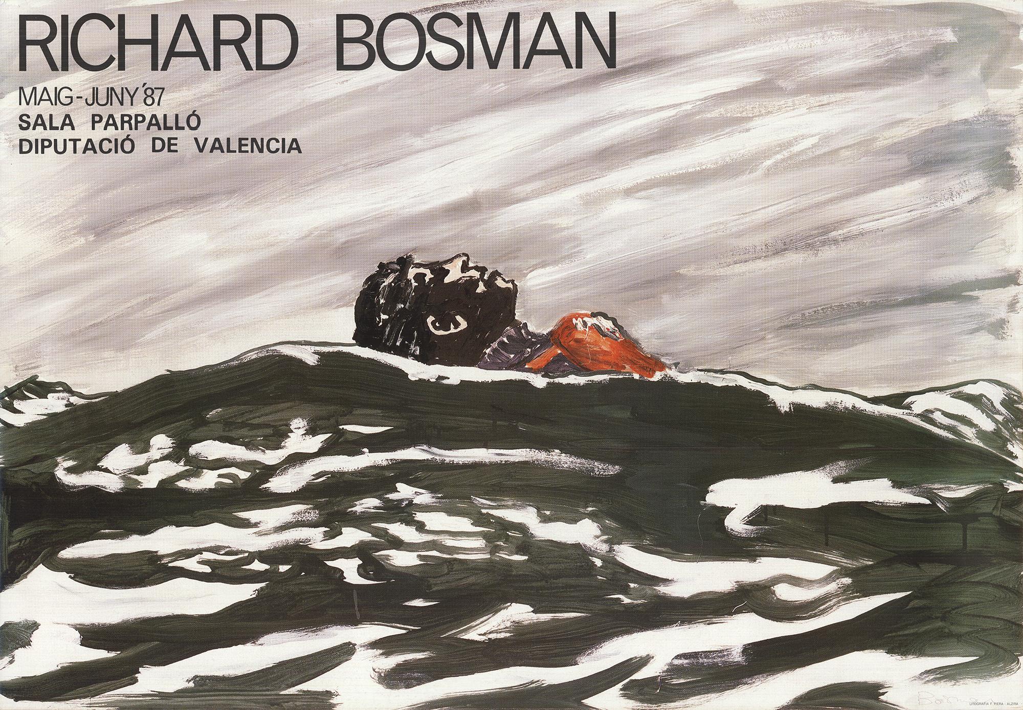 1987 After Richard Bosman 'Sala Parpalló, Diputació de València'