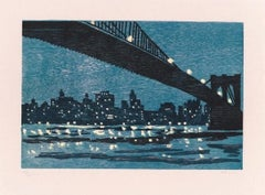 Brooklyn Bridge, Richard Bosman