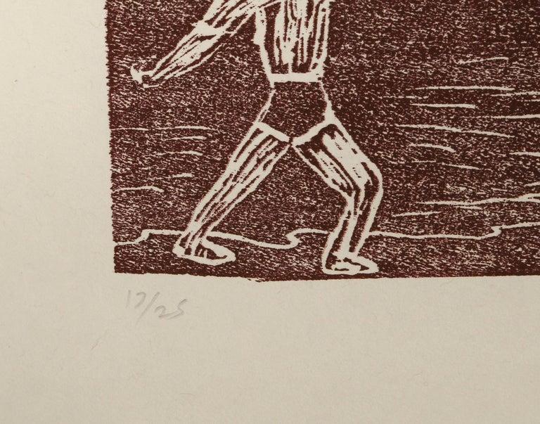 Cain and Abel - Print by Richard Bosman